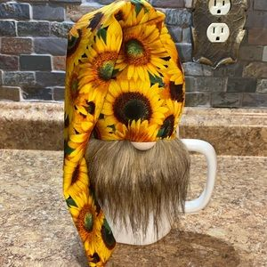 🌻 Handmade Sunflower Farmhouse Spring Gnome